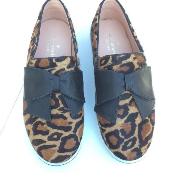 ff5094ca00c kate spade Shoes - Kate Spade Delise Leopard Print Sneaker 7.5 B